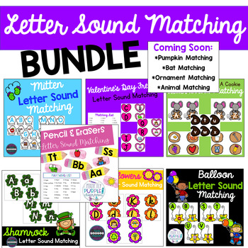 Letter Sound Matching Bundle