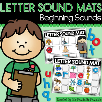Letter Sound Mats {Activities to Teach Beginning Sounds}
