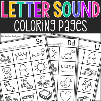 letter sounds coloring pages - photo#11