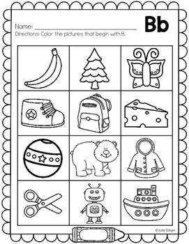 letter sounds coloring pages - photo#15