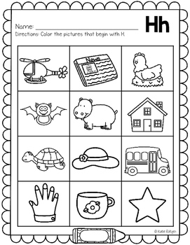 letter sounds coloring pages - photo#16