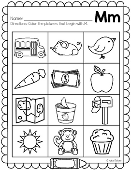 letter sounds coloring pages - photo#18