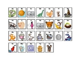 Letter Sound Picture Card Chart (goes with Imagine It! program)
