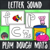 Letter Sound Play Dough Mats