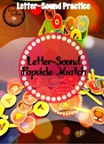 Letter-Sound Popsicle Match: Letter-Sound Practice