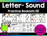 Letter Sound Practice Booklets