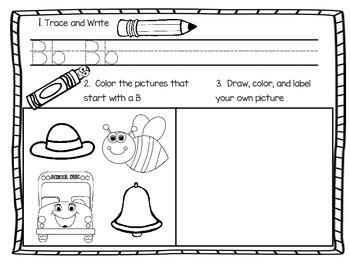 Letter Sound Practice Sheets