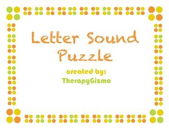 Letter Sound Puzzle