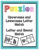 Letter & Sound Puzzles