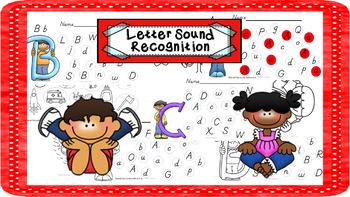 Letter/Sound Recognition Bundle