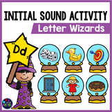 Beginning Sound Picture Sort With Letter Sounds Worksheets