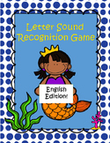 Letter Sound Recognition Sorting Game (English Edition)