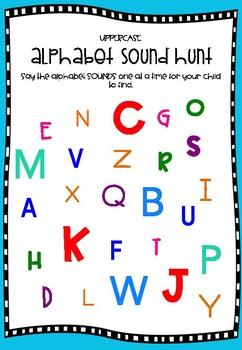 Letter - Sound Recognition Worksheets