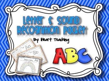 Letter & Sound Recognition Packet (NO PREP)