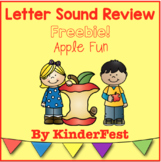 Letter Sound Review FREEBIE!  Apple Fun