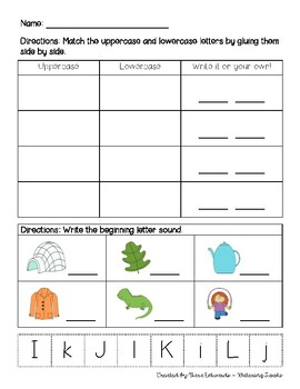 Letter Sound Review - Great for RTI!