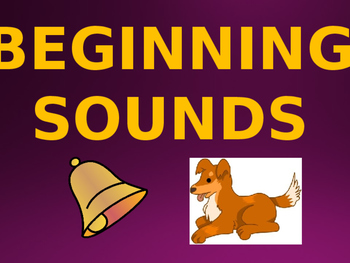 Beginning Sounds Lesson