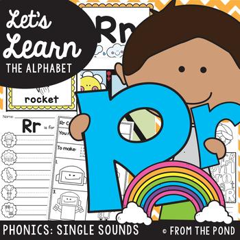 Alphabet Letter Sound Phonics Resource Packet {Rr}
