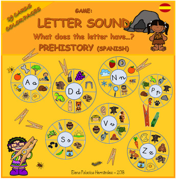 Letter Sound (SPANISH) / Sonidos de letras