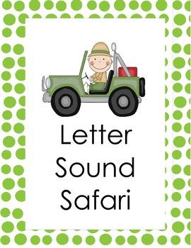 Letter Sound Safari
