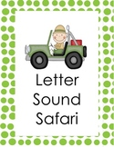 Letter Sound Safari