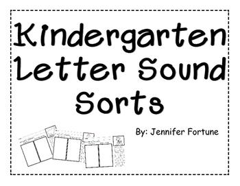 Alphabet Letter Sound Sort