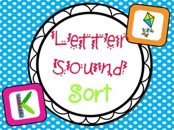Letter Sound Sort - B2S edition