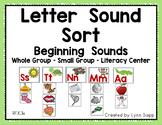 Letter Sound Sort - Beginning Sounds