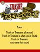Letter Sound Sorting - Trash or Treasure?