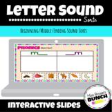 Letter Sound Sorts (Beginning/Middle/End)