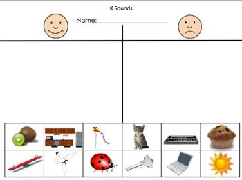 Letter Sound T Chart Worksheets