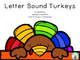 Letter Sound Turkeys