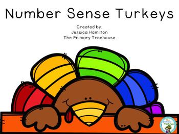 Number Sense Turkeys