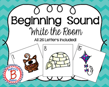 Letter Sound Write the Room