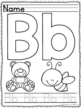 Letter Sound and Identification Worksheets