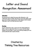 Letter, Sound and Word Recognition Assessment