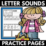 Beginning Letter Sounds Practice - Letter Sound Recognition