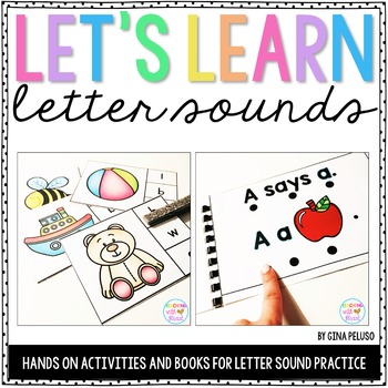 Letter Sounds Activities
