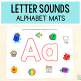 Letter Sounds Alphabet Mats