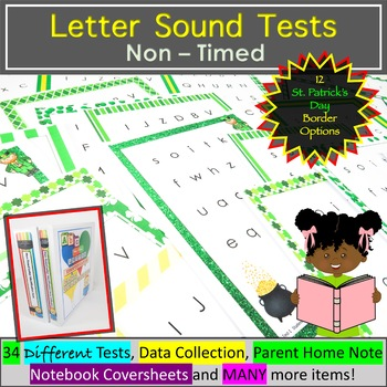 Letter Sounds Assessment - St. Patrick's Day