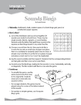 Letter Sounds, Blends, and Digraphs (Ten-Minute Activities)