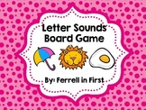 Letter Sounds Board Game