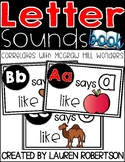 Letter Sounds Book- McGraw Hill Wonders
