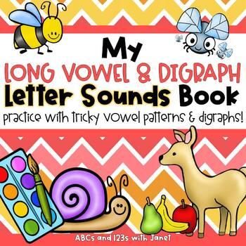 Letter Sounds Book {digraphs, vowel patterns, & more!}