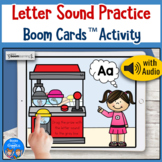 Letter Sounds Boom Card Activity