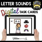 Letter Sounds - Boom Cards™ Digital Task Cards for Phonics