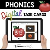 Letter Sounds Boom Cards™  Kindergarten Phonics - Back to