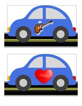 Letter Sounds' Cars