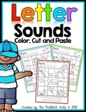 Letter Sounds (Color, Cut, and Paste)
