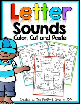 Letter Sounds (Color, Cut, and Paste)